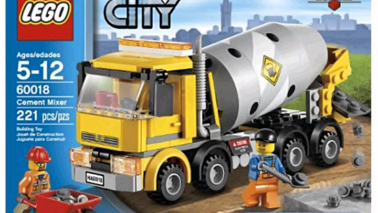Lego City Cement Mixer 60018 - YouTube