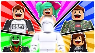 I MERGE WITH OTHER YOUTUBERS IN ROBLOX!