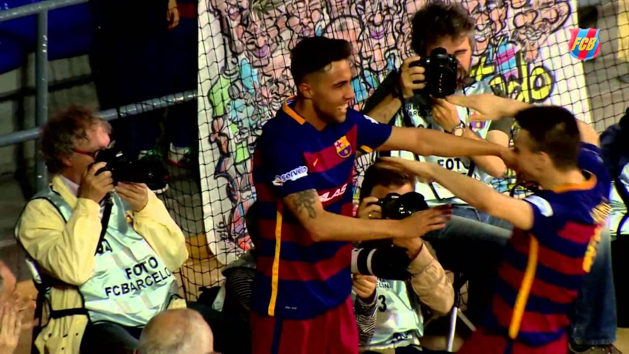 FCB Futsal: Best goals April'16