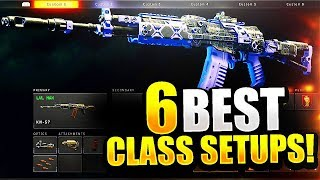 6 BEST CLASS SETUPS to INCREASE K/D RATIO COD BO4! - BEST CLASS SETUP COD BO4 (BEST CLASSES COD BO4)