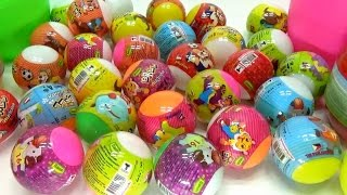 30 Surprise Eggs ! Surprise CANDY BALL From ThaiLan ! Bất Ngờ Với Trứng CANDY BALL ! WOB Kids !
