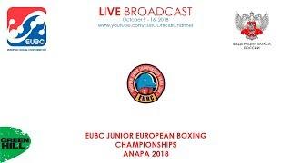 EUBC Junior European Boxing Championships ANAPA 2018 - Finals - 16/10/2018 12:00