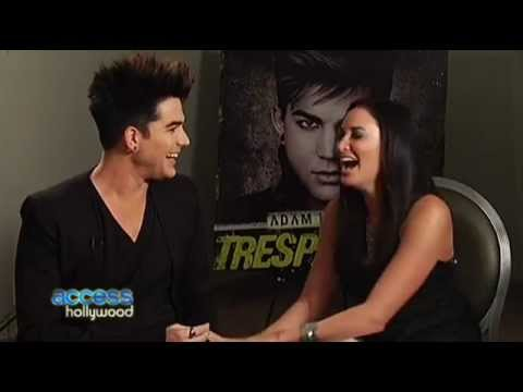 Access Hollywood ADAM LAMBERT Talks Being in Love 1-25-12 Dish of Salt