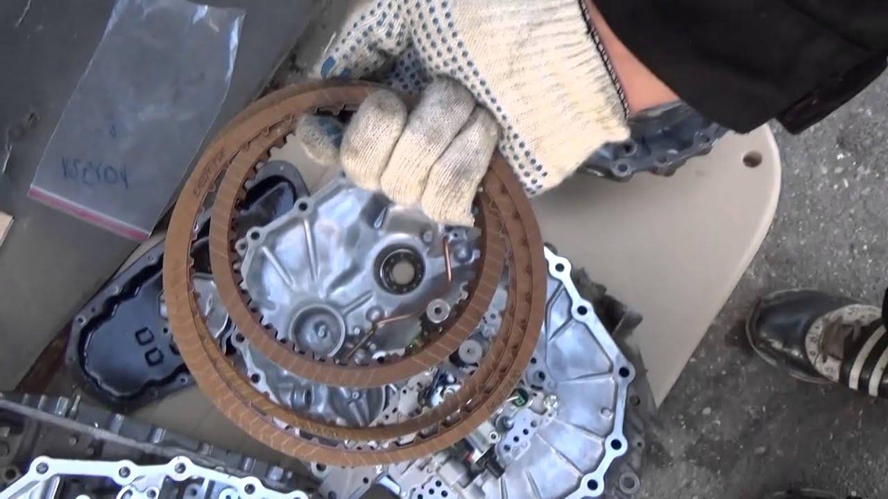 Ремонт вариатора Nissan своими руками