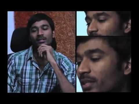 Unga Kolaveri Enna Contest - Dhanush in Mirchi Studios!
