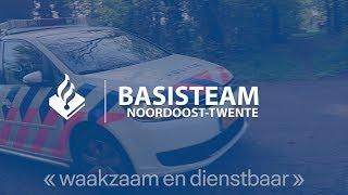 Politie Noordoost-Twente - Prio 1 Achtervolging gestolen voertuig