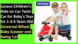 best scooter for 3 year old boy|Wheel Baby Swing car(Lecoco)