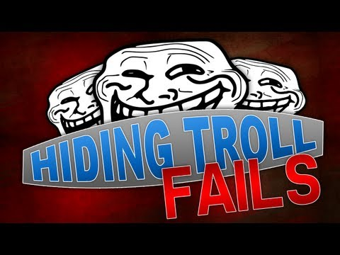 Black Ops 2: HIDING TROLL FAILS!