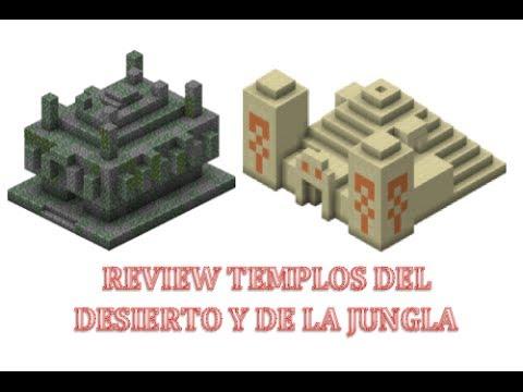 Minecraft Xbox360/PS3 TU14-Templos de jungla y del desierto   Review