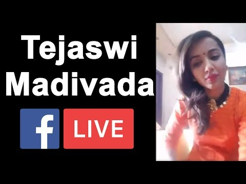 Tejaswi Madivada LIVE | Tejaswi Madivada Facebook LIVE after Bigg Boss 2 Elimination | YOYO AP Times