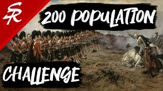 200 Population Community Challenge Results! | Age of Empires III