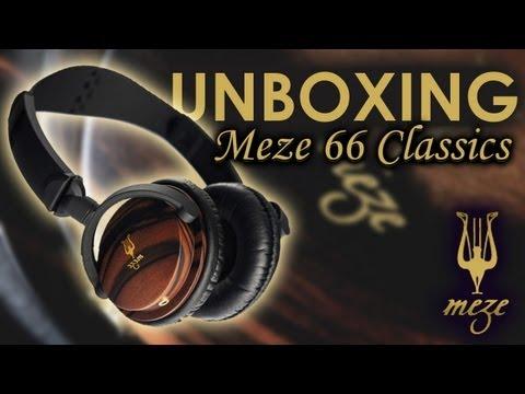 Unboxing Audifonos Meze 66 Classics!