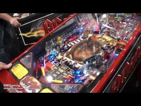AC-DC Premium Pinball Machine - Live Gameplay Video - BMIGaming.com - Stern Pinball