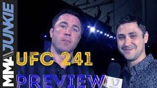 UFC 241 preview with Chael Sonnen: What to expect in Anaheim