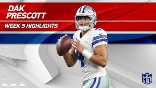 Dak Prescott Pulls Off 4 TD Day vs. Green Bay! | Packers vs. Cowboys | Wk 5 Player Highlights