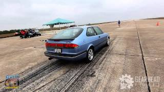 1996 SAAB 900 Turbo - 174mph standing mile