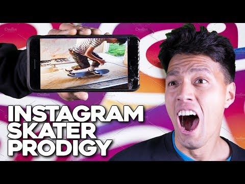 Instagram's HIDDEN Skate Prodigy!!!