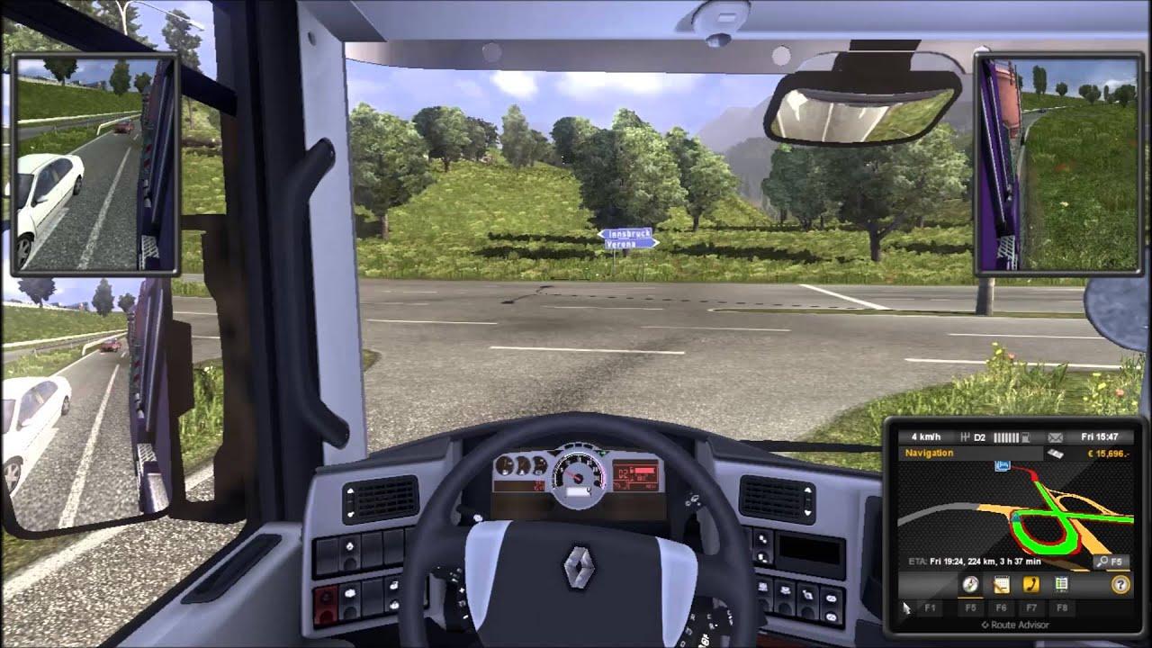 euro truck simulator 2 gameplay in limba romana hd. Black Bedroom Furniture Sets. Home Design Ideas