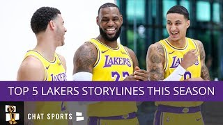 Lakers Schedule: Top 5 Storylines For This Season & First 2 Weeks Of Games