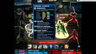 Marvel avengers alliance - capitulo 10 mision 4, Oscuridad Eterna