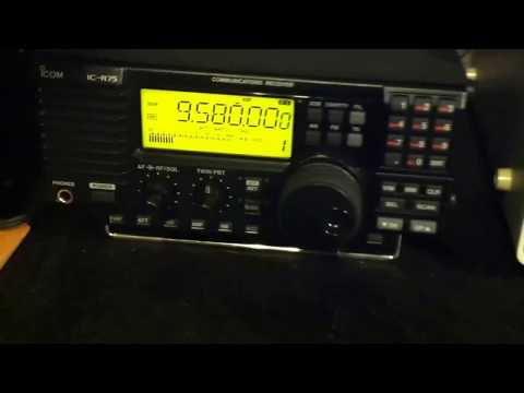 Australia - Canada 9.580 Mhz On FRG-7 and ICOM IC-R75