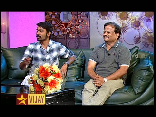 Koffee with DD - Dhanush and K V Anand   22nd February 2015   Promo 6