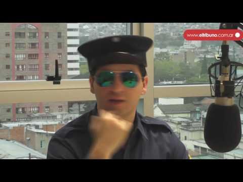 Oficial Gordillo estuvo en los estudios de Jujuy FM