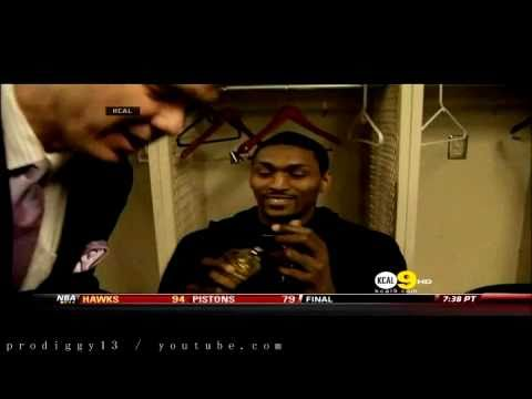 RON ARTEST THE MAD MAN (Metta World Peace's WTF moments)