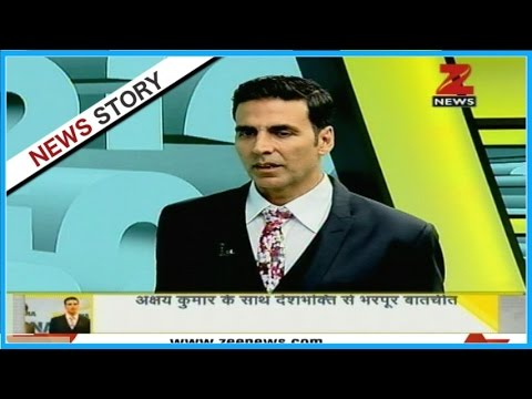DNA: Exclusive talk with Akshay Kumar over his videos on social media