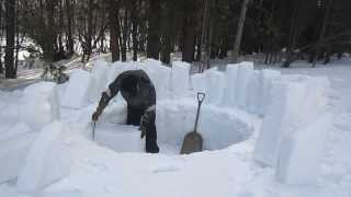 How to Build an Igloo by Yourself