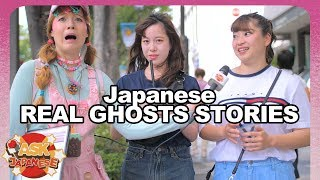 SPOOKY! REAL JAPAN GHOST STORIES from Japanese girls and boys.
