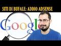 Google banna da Adsense 200 siti di Bufale: anche ByoBlu (Claudio Messora)!