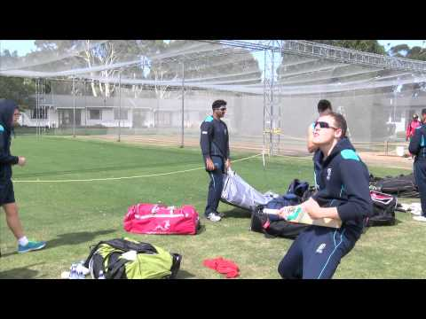 Fun with players at ICC Cricket World Cup Qualifier 2014