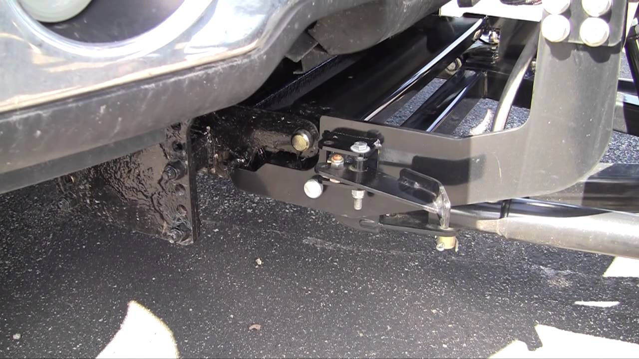 how to attach and remove a snowdogg md series snow plow
