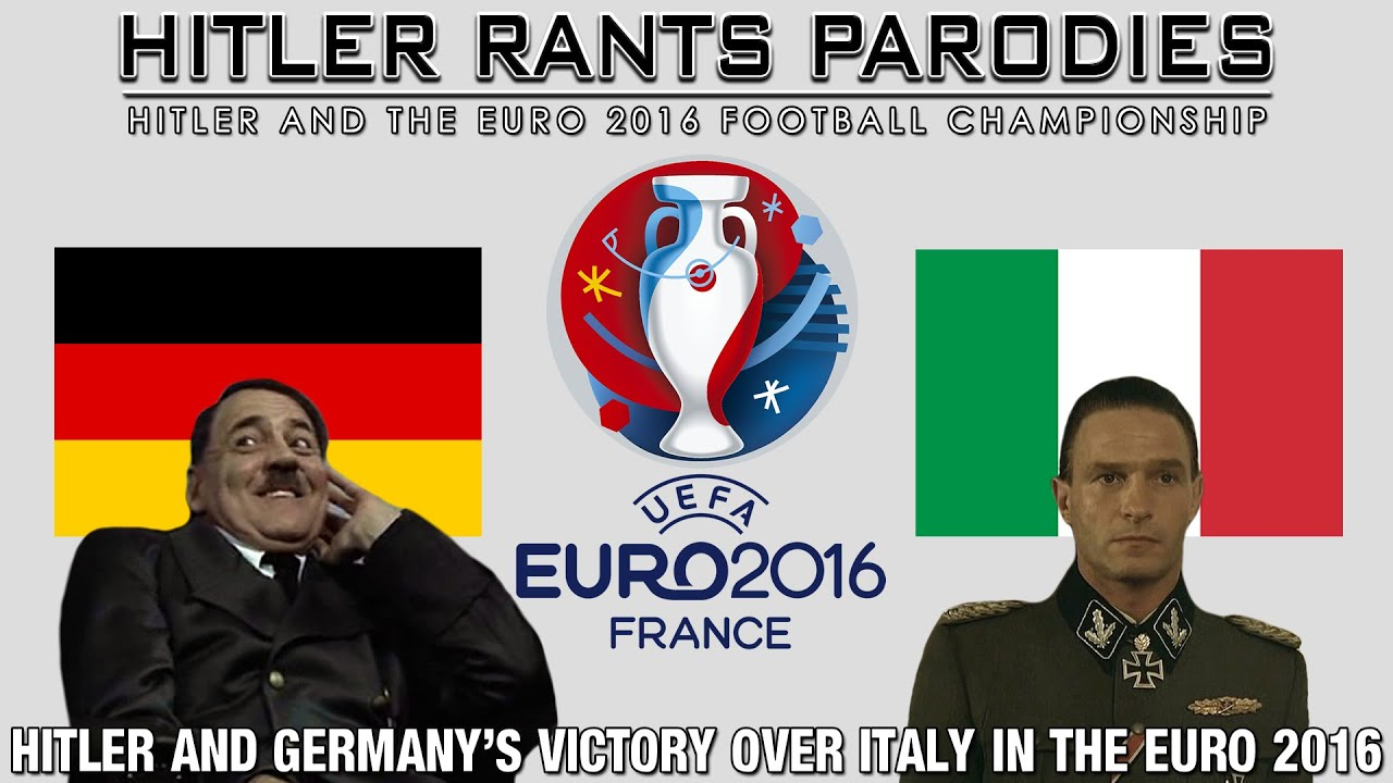 Hitler and Germany's victory over Italy in the Euro 2016