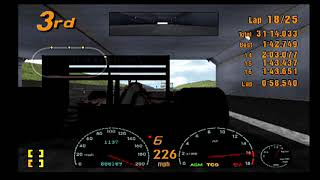 Gran Turismo 3 Playthrough Part 101! Race 6 Part 2! Test course finishing strong!