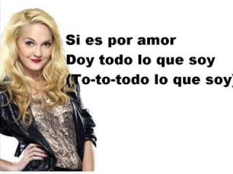 Violetta y Ludmila Si es por amor lyrics