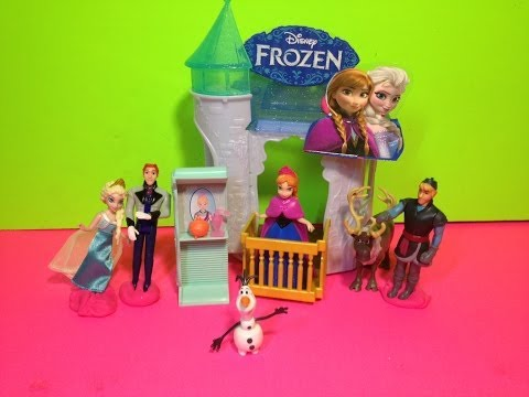 Disney Frozen Flip n' Switch Castle Disney Princess Anna Playset Toy Disney Movie Frozen