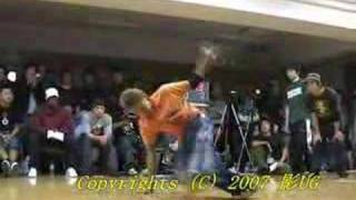 Be.B-Boy 2007 FNC vs Skillfull BOXX BEST8 Part1