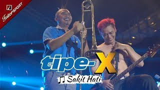 Gokil! DUA MARMUT Goyang di Tengah Lagu Tipe-X - Sakit Hati | INTERSPORT Jakarta 04 NOVEMBER 2017