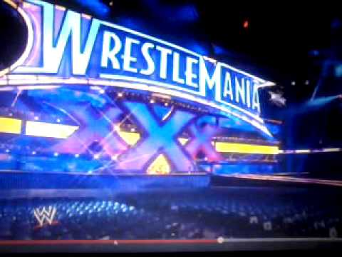 Escenario Oficial De Wrestlemania Xxx video