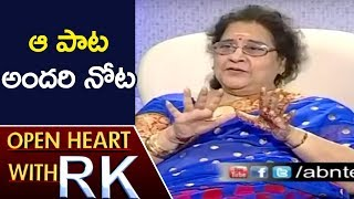 Veteran Actress Geetanjali Reveals Reason Behind Her Entry Into Politics | Open Heart With RK | ABN