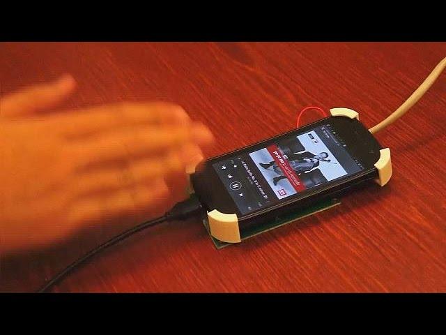 کنترل گوشی های هوشمند با حرکات دست - hi-tech