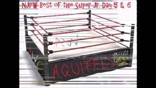 NJPW Best of the Super Juniors Day 5 & 6 english