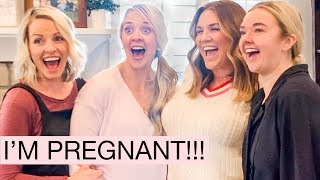 TELLING FAMILY AND FRIENDS WE'RE PREGNANT + CELEBRITY CAMEO!