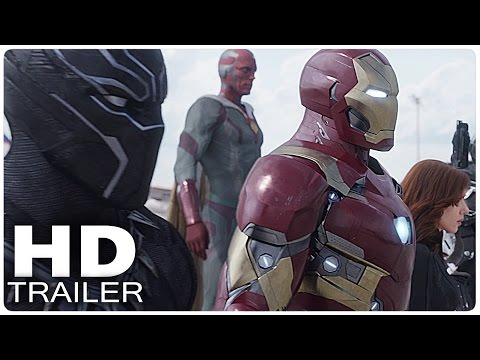 CAPTAIN AMERICA 3 CIVIL WAR Spot Trailer 2 (2016)