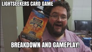 LIghtseekers Card Game - Gameplay and Rules Walkthrough!
