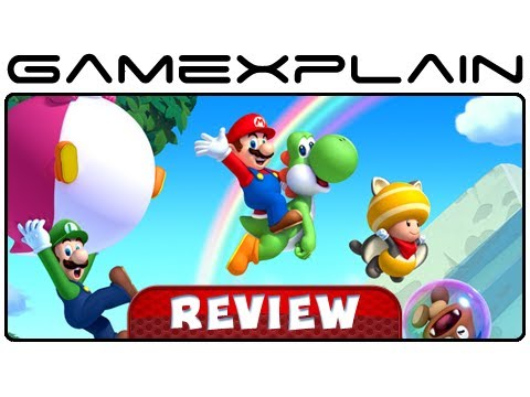 New Super Mario Bros. U - Video Review (Wii U) [HD]