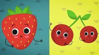 Meyveleri Öğreniyorum - Bebekler İçin Meyveler - Okul Öncesi Eğitim Videosu