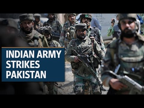 Indian army strikes terrorist bases in Pakistan | Video